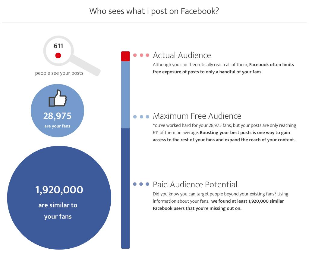 Facebook ad tool potential reach estimate