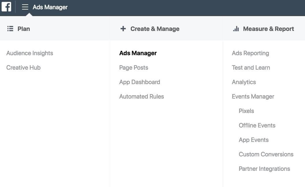 guidelines for facebook ads manager