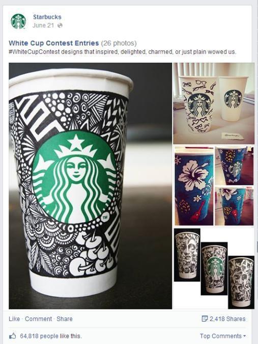Facebook user generated content marketing