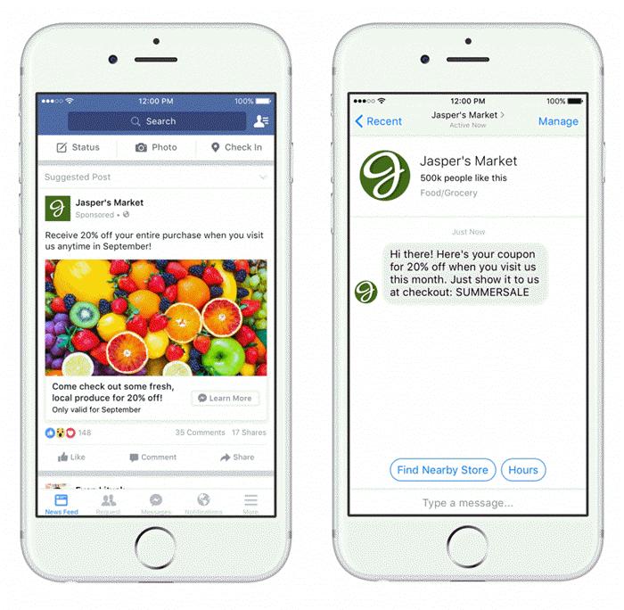 facebook ads click to messenger
