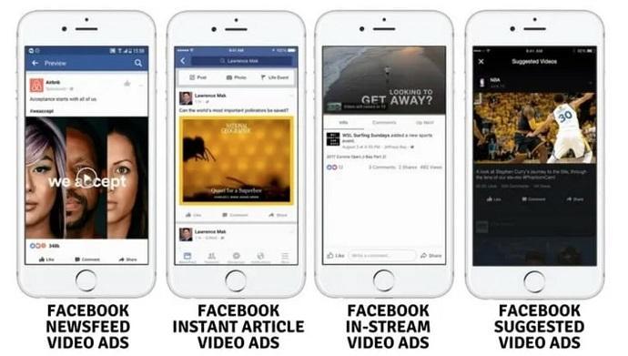 Facebook video ad example