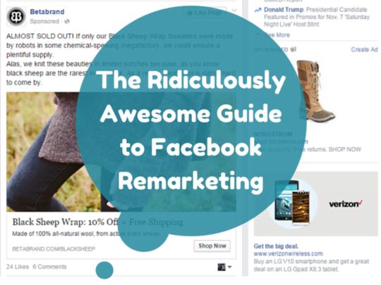 Facebook remarketing guide