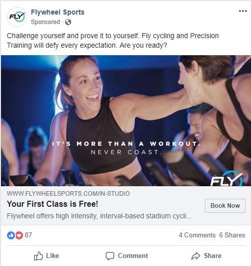fitness remarketing offer