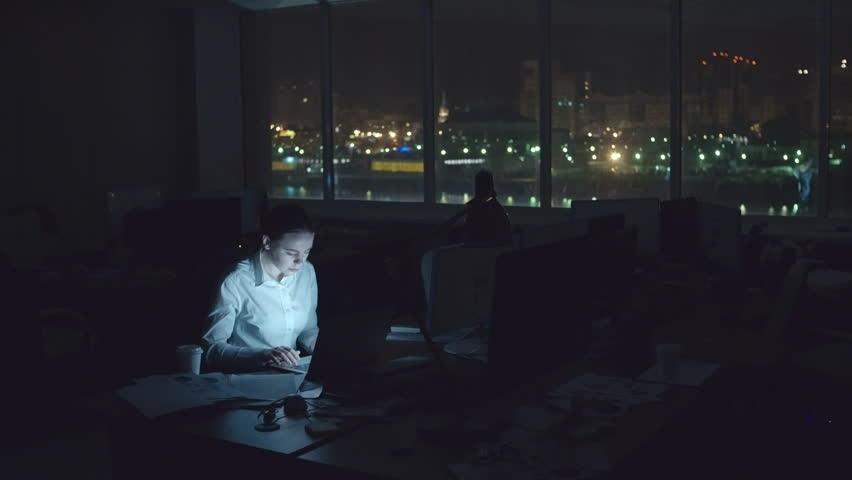 Freelance writing work working in the dark