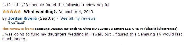 funny amazon customer reviews
