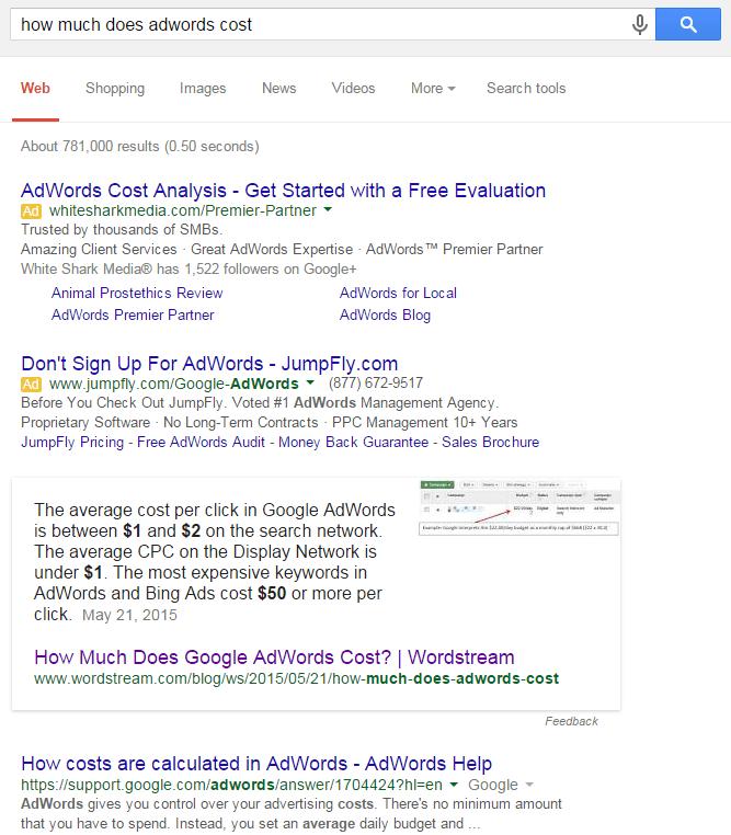 google answer box tips