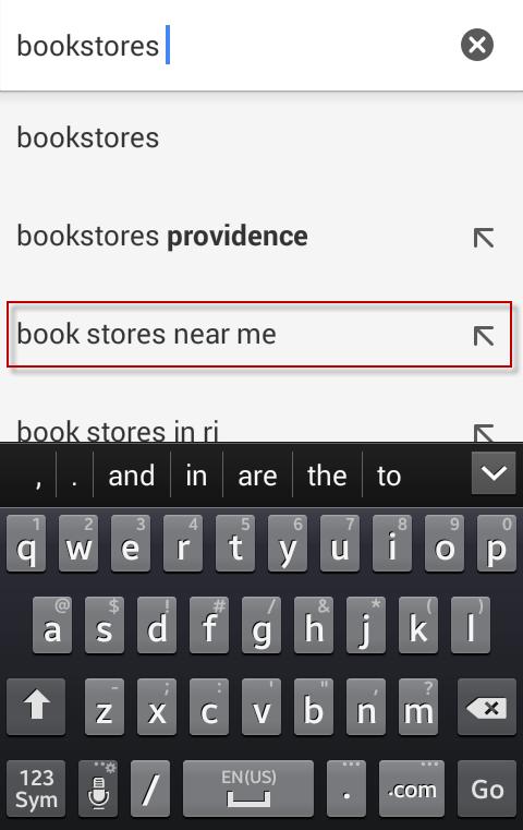 Google Maps marketing near me results