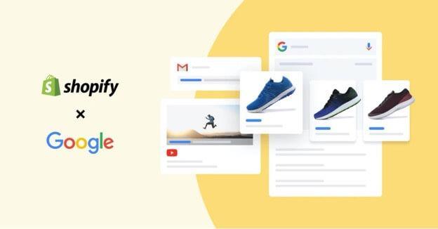 shopify and google partnership
