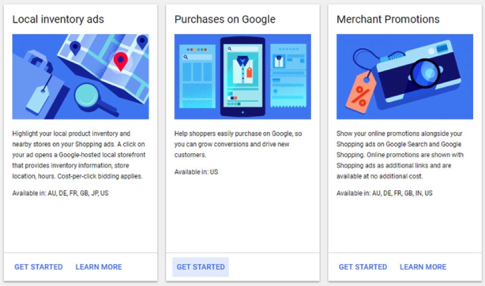 Google Purchases Beta Merchant Center