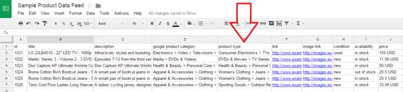 google-shopping-feed-sample