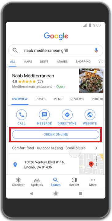 google-sunsets-bid-strategies-order-food-from-mobile-serp