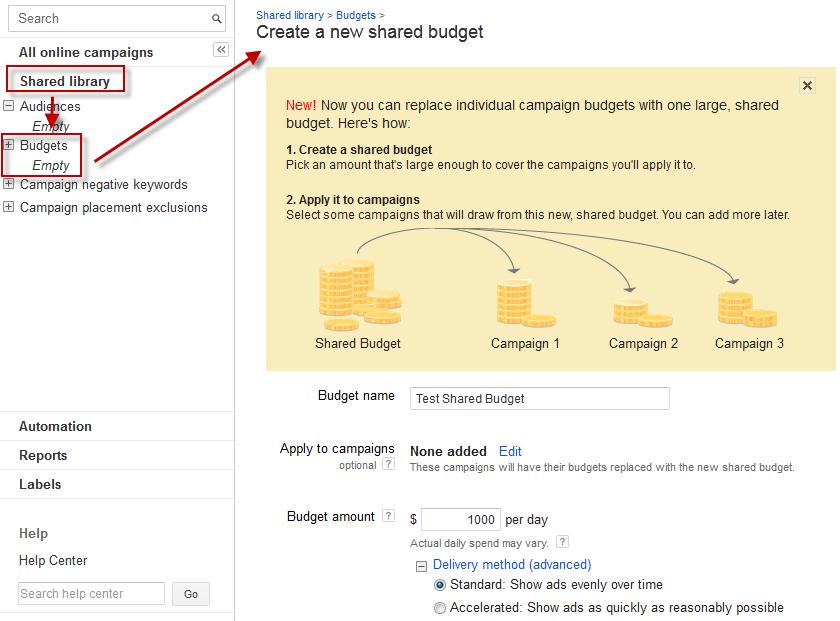 adwords budget tool, adwords budget optimizer