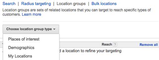 targeting demographics in google adwords