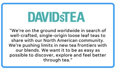 business mission statement example-david's tea