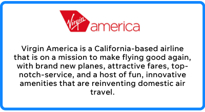 virgin america's business mission statement