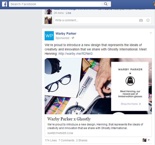 Inbound marketing strategy screenshot of a social post