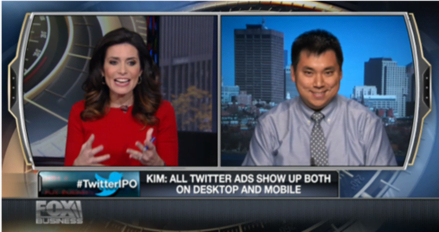Influencer marketing Larry Kim Fox News appearance