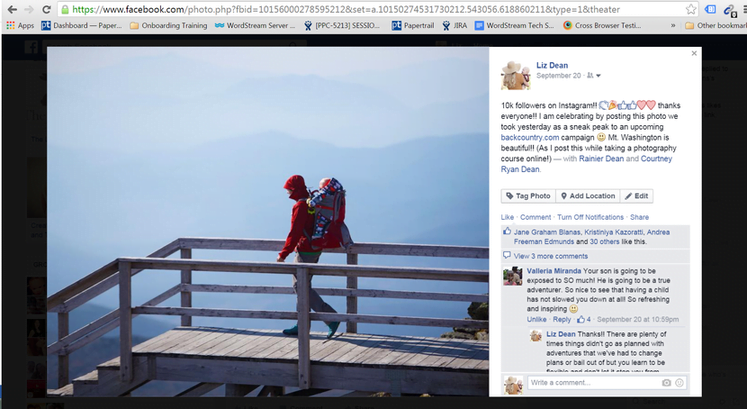Instagram sponsored posts Facebook post 2