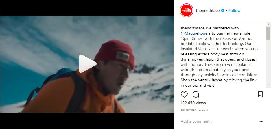 Instagram Videos North Face