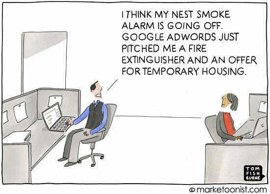 Internet of Things AdWords comic