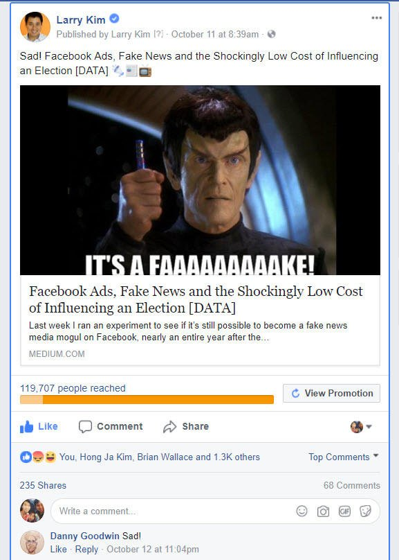 larry kim facebook ad targeting