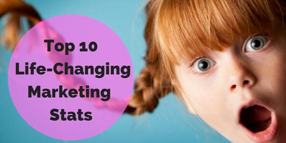 lifechanging marketing stats