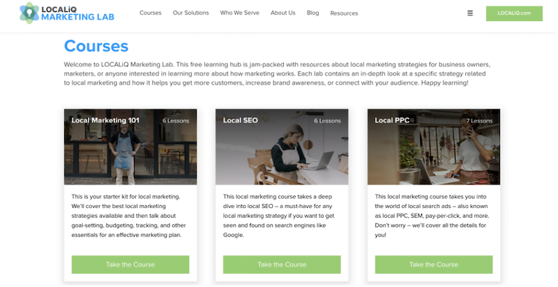 free local marketing resources—localiq marketing lab