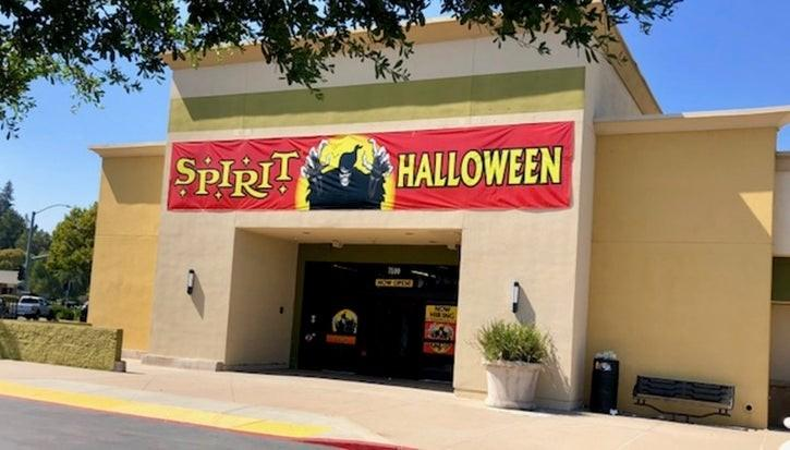 seasonal halloween store