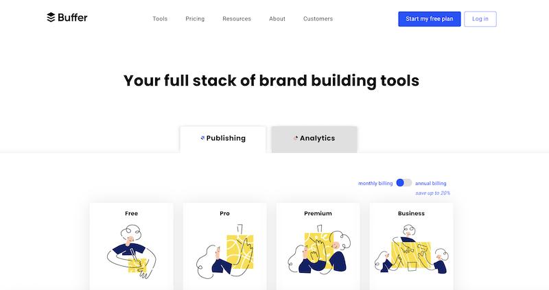 marketing automation tools—buffer