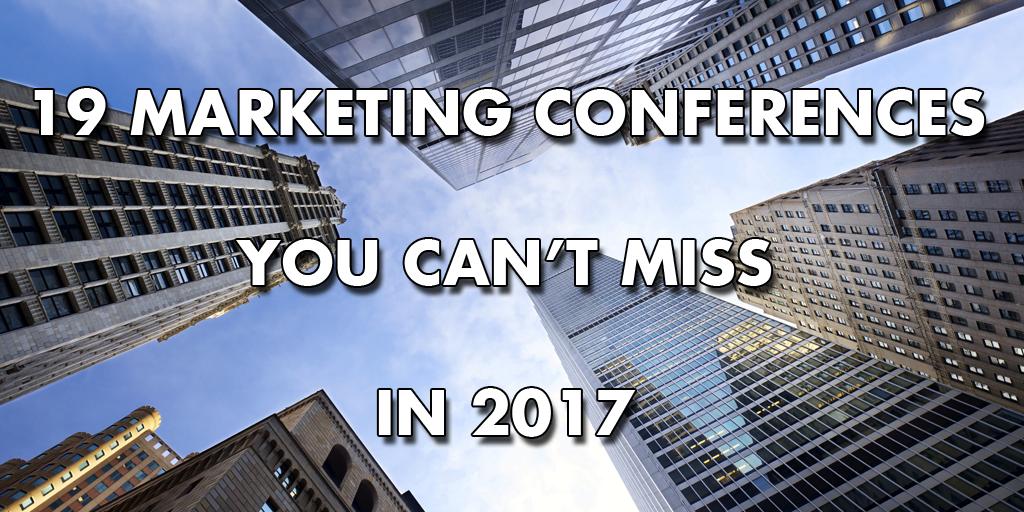 Marketing Conferences 2017