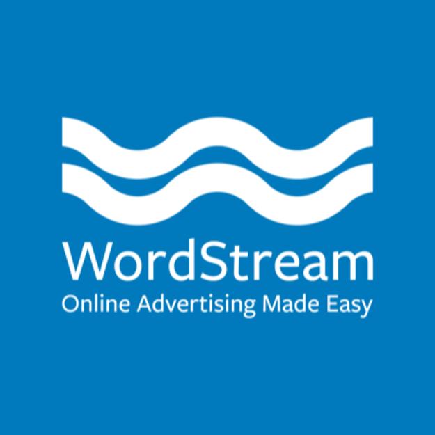 WordStream logo with tagline