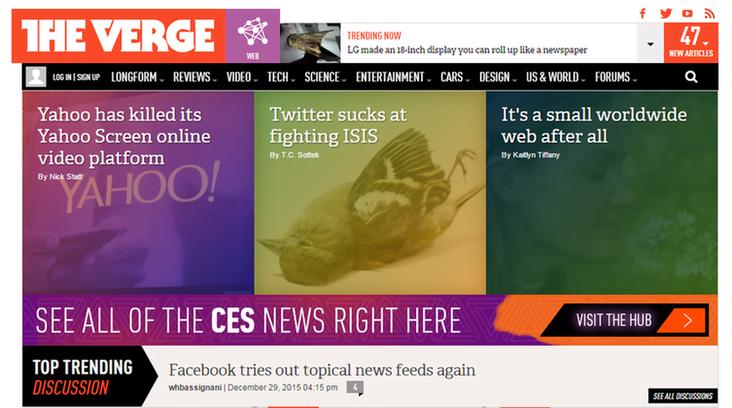 Marketing news The Verge