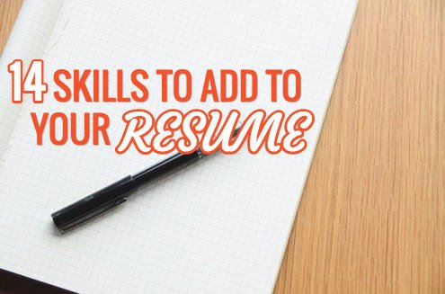 marketing skills for resume 2015
