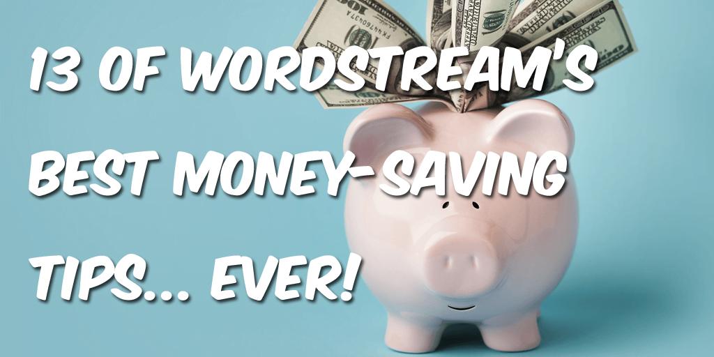 Money saving PPC tips