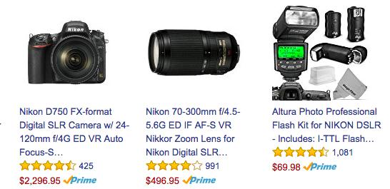 Nikon Social Proof