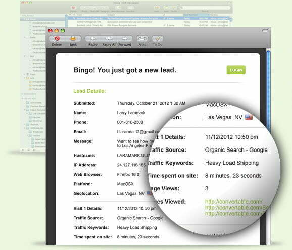 Online marketing tools Convertable