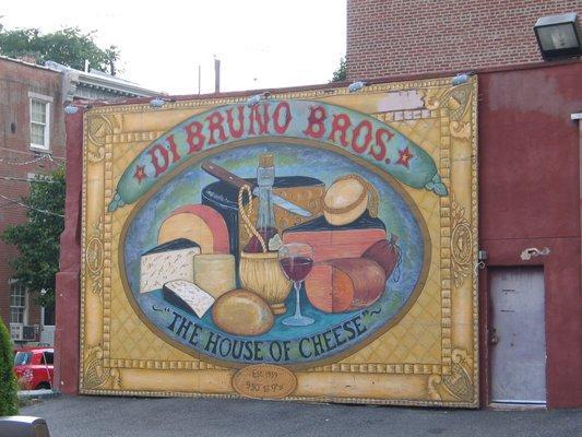 marketing mural