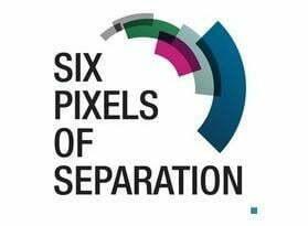 six pixels of seperation