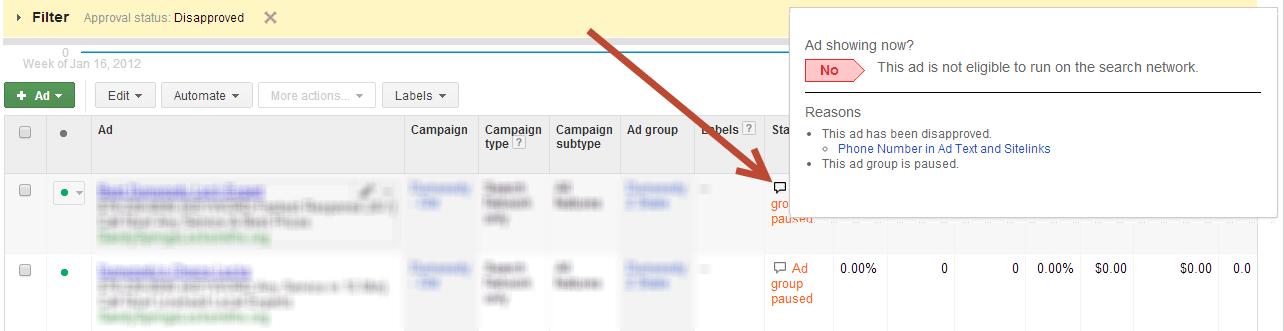 adwords ad writing templates