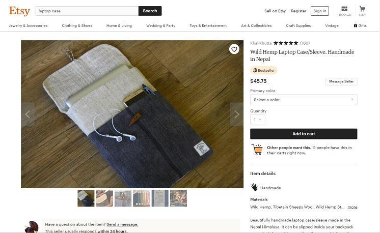 product description of a laptop sleeve