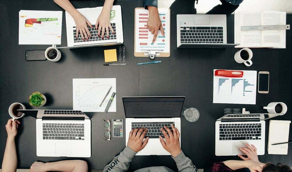 working at digital marketing agency