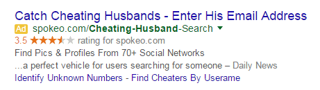 RankBrain emotional ads example