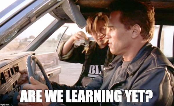 RankBrain Terminator are we learning yet