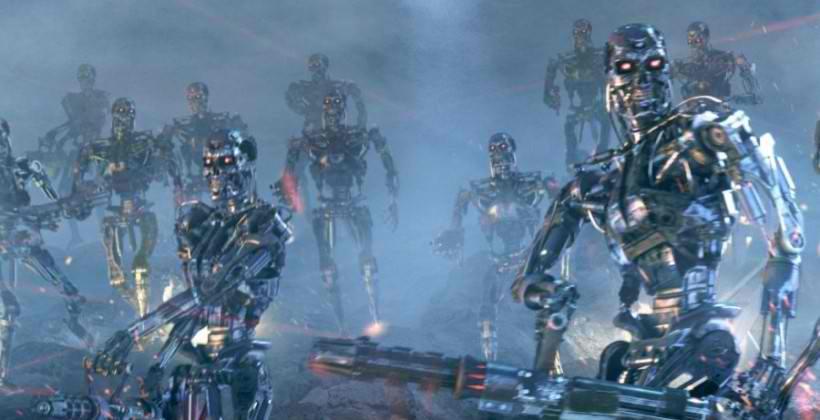 RankBrain Terminator war against the machines