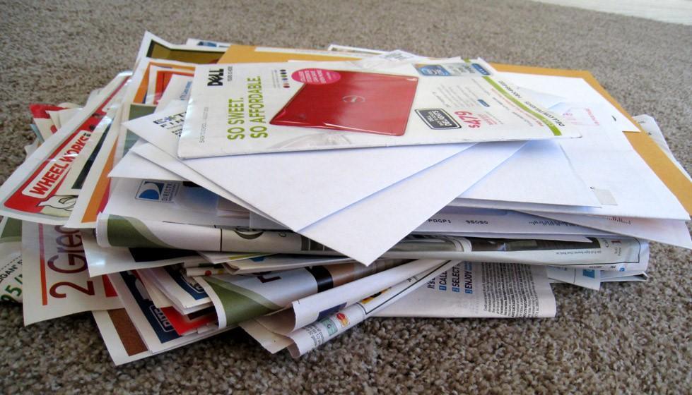 old marketing tactics, like mailers