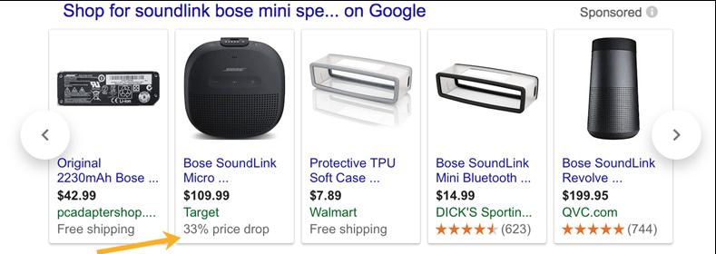 black friday google shopping ads