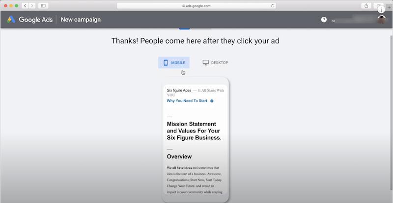 setup-google-ads-account-website