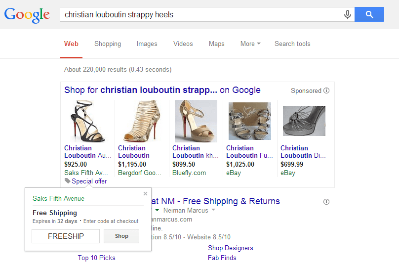 adwords merchant promotions