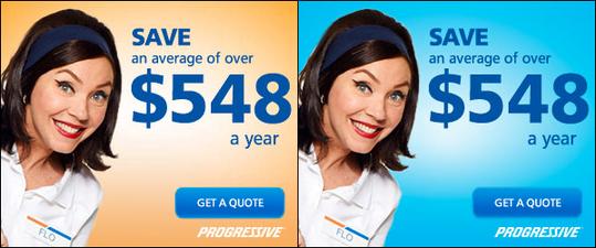 Split test progressive insurance