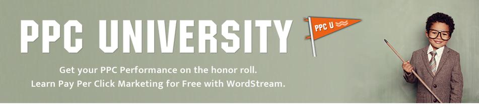 startup marketin wordstream ppc university banner